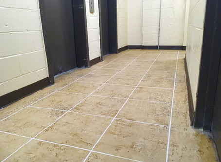 How to install tile on an uneven floor