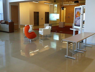 Typical Polished Concrete Floor