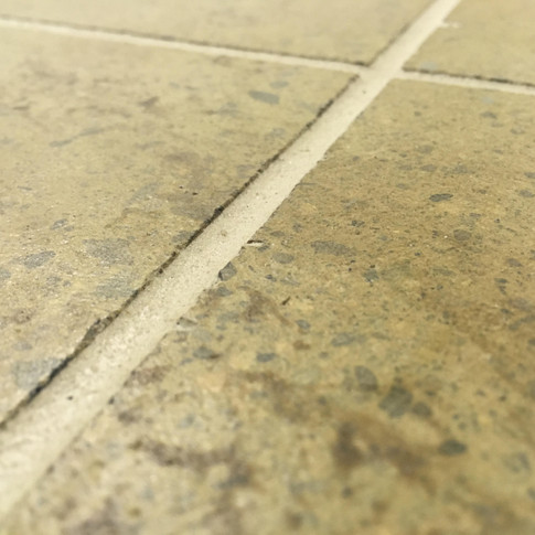 "Engineered Concrete Floor ""Warm Chalet"", Close-up"