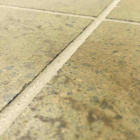"Engineered Concrete Floor ""Warm Chalet"", Close-up"