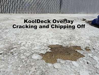 KoolDeck Overlay Cracking and Chipping