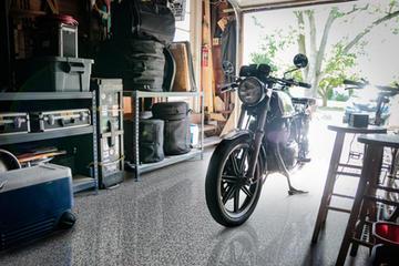 Epoxy Garage Floor in Dark Creek