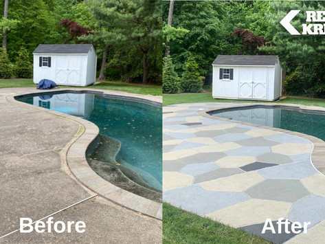 Pool season 2021 is on! Are you in better shape than your concrete pool deck?