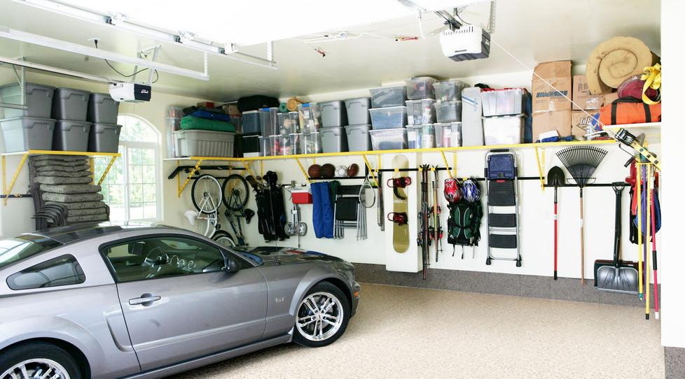 RenuKrete ShoreandRock Epoxy garage floo