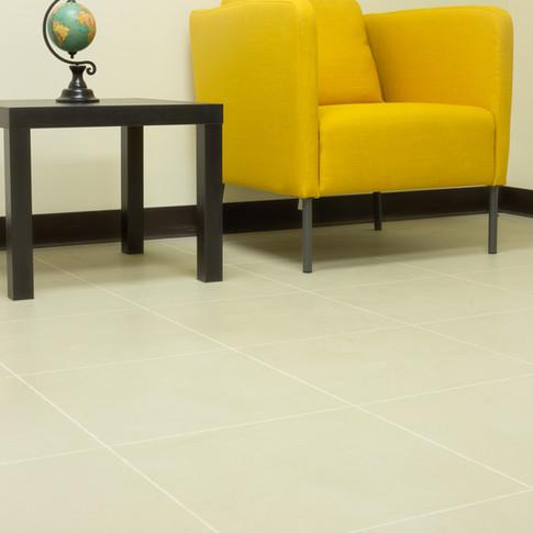 """Engineered Concrete Floor """"Hellgrau"""" - Office"""