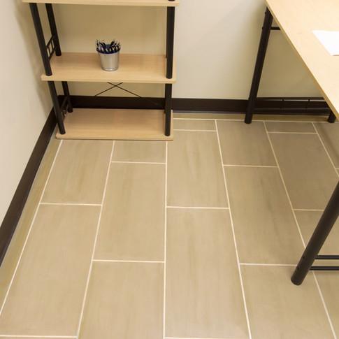 """Engineered Concrete Floor """"Birch Wood"""""""