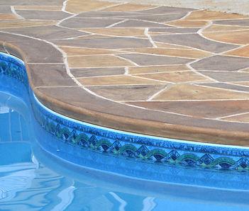 RenuKrete Resurfaced Concrete Pool Deck