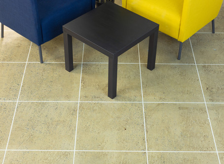 How a warehouse floor turned into an office floor
