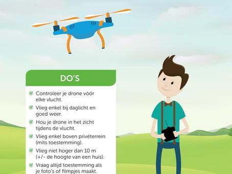 Vlieg veilig met je drone
