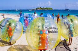 Bubble foot gosier