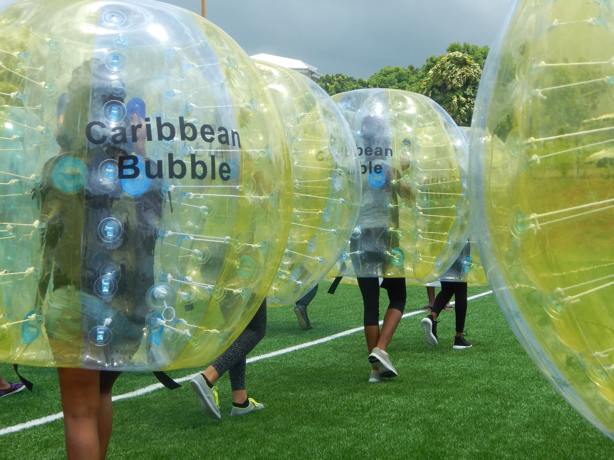 Bubble foot baie mahault