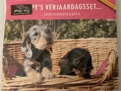 Cadeau set, Pups