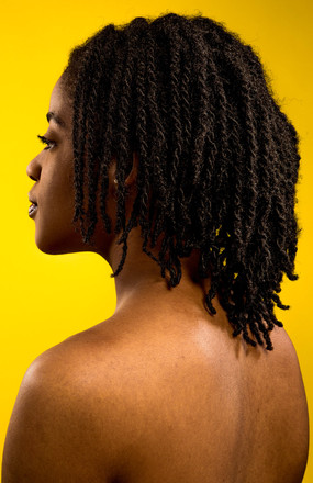 BLACK HAIR PORTRAITS