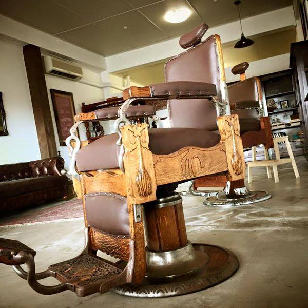 Our Traditional Barber Chairs.