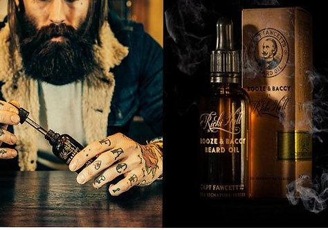 Rikki Hall Booze and Baccy LRGE Beard Oil