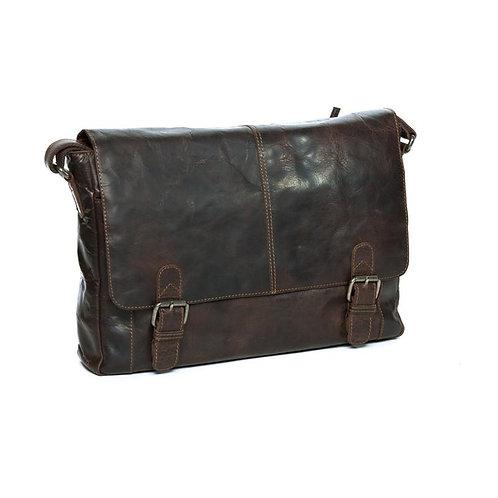 Oran Leather Manbag Satchel