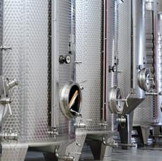 Weinlagerung Edelstahl