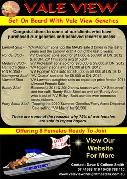 2013 National female sale