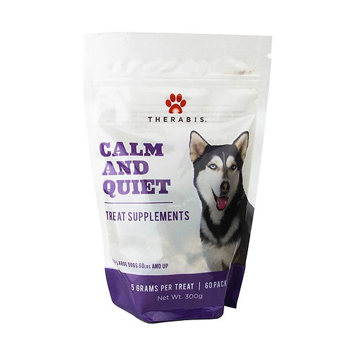 CBD Calm & Quiet Dog Treats for Large Dogs (up to 60lbs+)