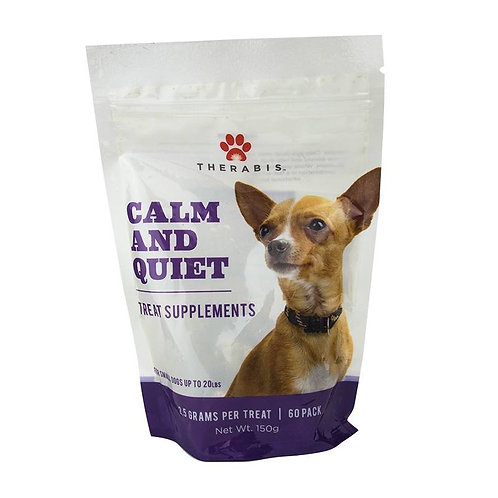 CBD Calm & Quiet Dog Treats for Small Dogs (up to 20lbs)