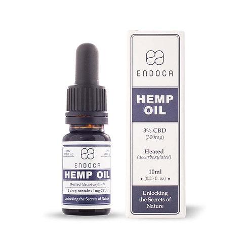 Endoca Hemp Oil Drops 300mg CBD