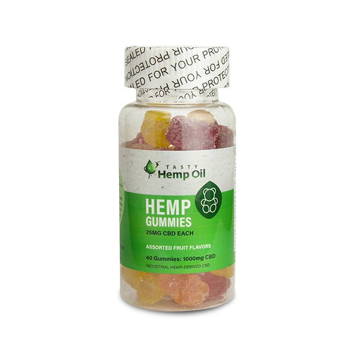 CBD Gummies 40 Count (25mg CBD Each)