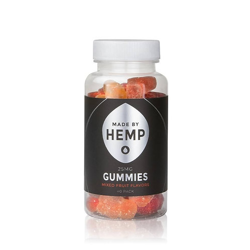 CBD Gummies 40-Pack (25mg CBD ea.)
