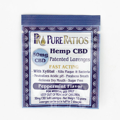 Hemp Lozenge (1 Piece / 50mg CBD)