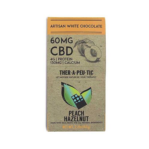 Therapeutic – CBD White Chocolate Peach Hazelnut (60mg CBD)