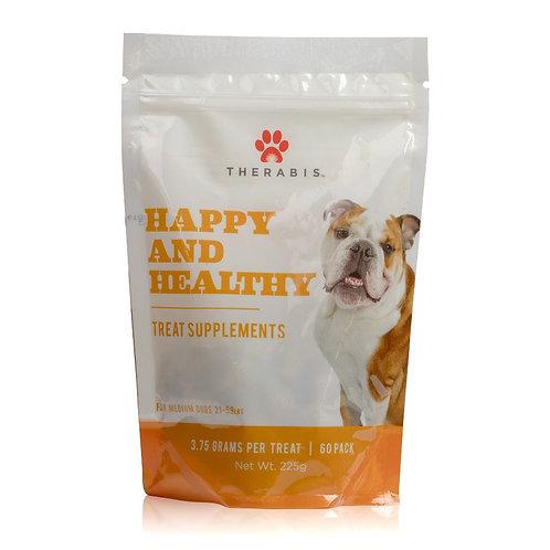 CBD Happy & Healthy Dog Treats for Medium Dogs (up to 21-59lbs)
