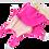 Thumbnail: Girl's Halterneck Swimsuit with Leg Frill