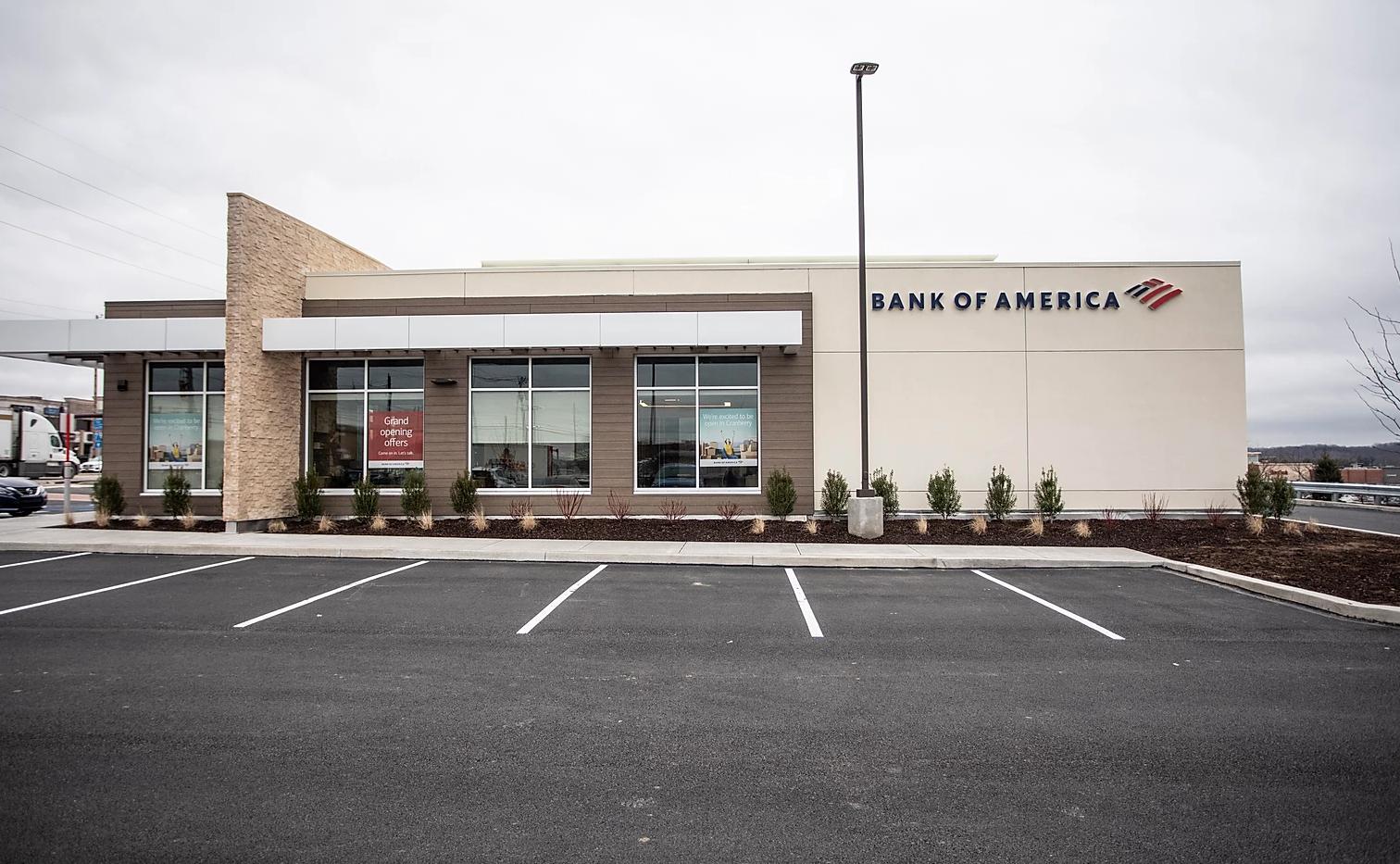 BANK OF AMERICA CRANBERRY