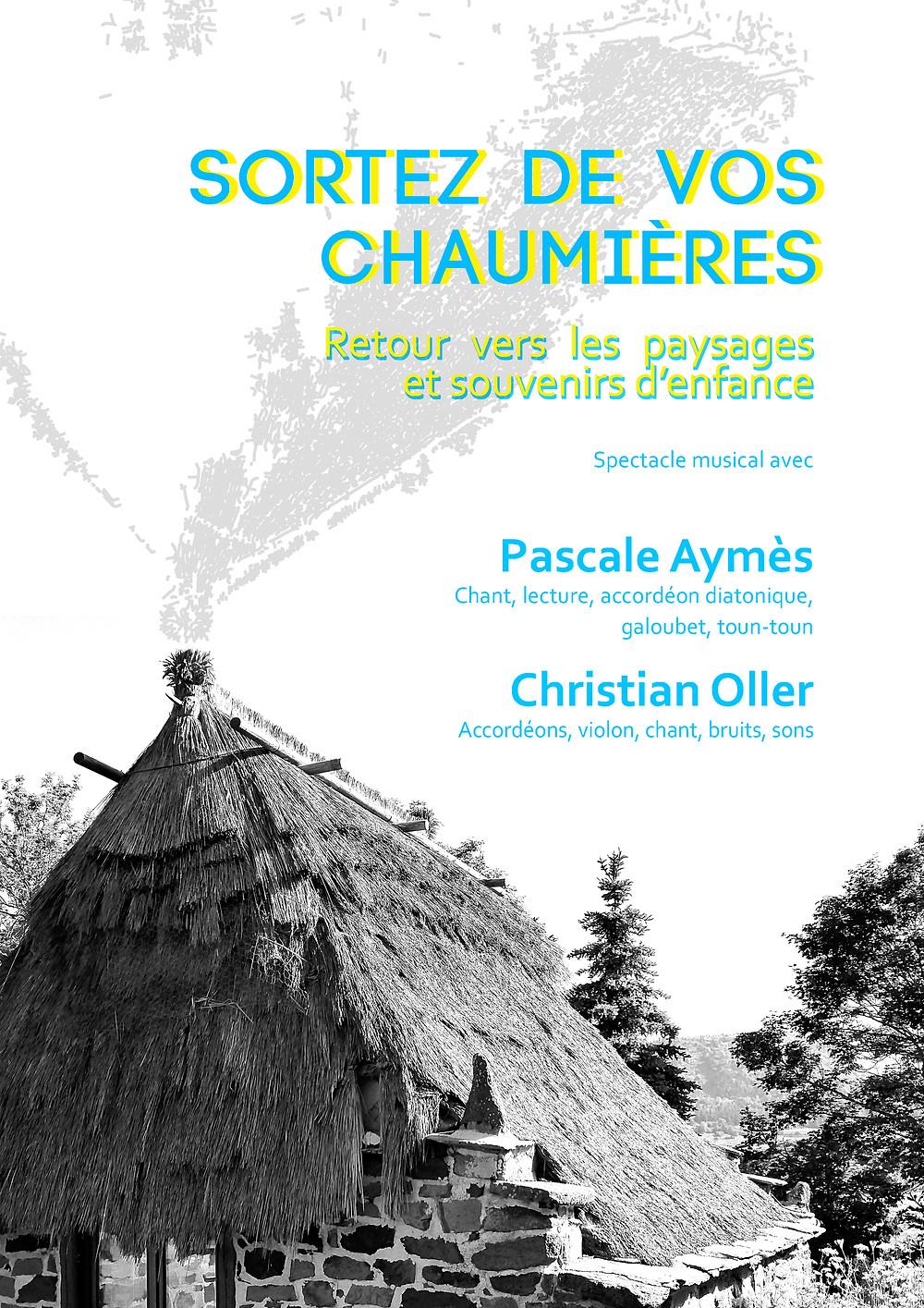spectacle musical le 29 septembre Ferme Bourlatier Usclade 07