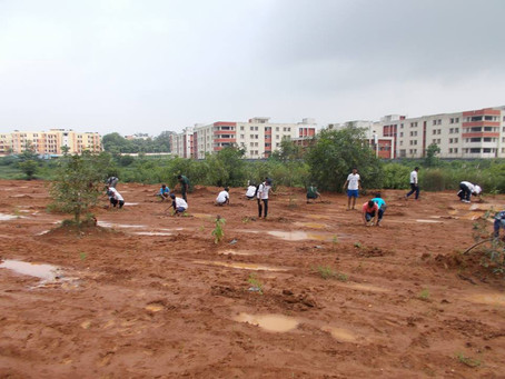 ON A MISSION TO PLANT 1000 TREES IN NIT ROURKELA