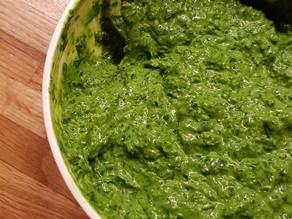 The best Highvibe kale-zucchini-avocado-herb pesto