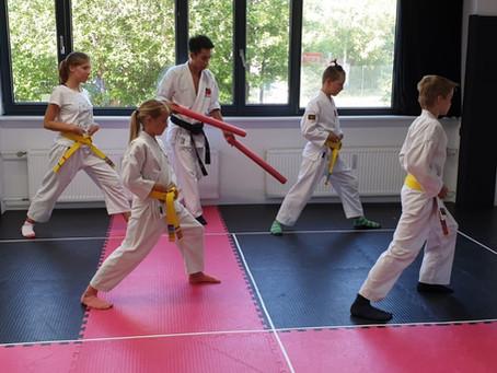Fünf Gründe, warum Kinder Karate lernen sollten