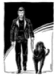 Der schwarz gekleidete Mann - Kurzgeschichte