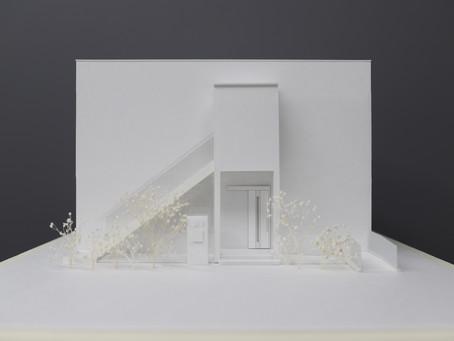 (仮称)虹の会工房 障がい者グループホーム建設工事 模型