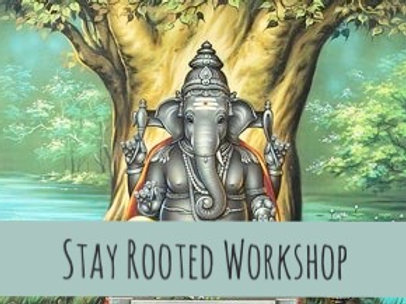 Stay Rooted Workshop