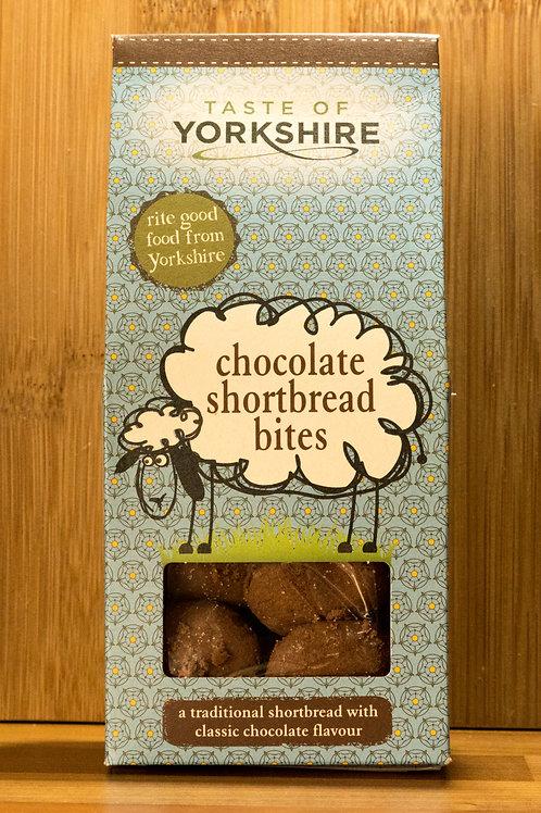 Taste of Yorkshire - Chocolate Shortbread Bites