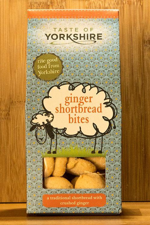 Taste of Yorkshire - Ginger Shortbread Bites