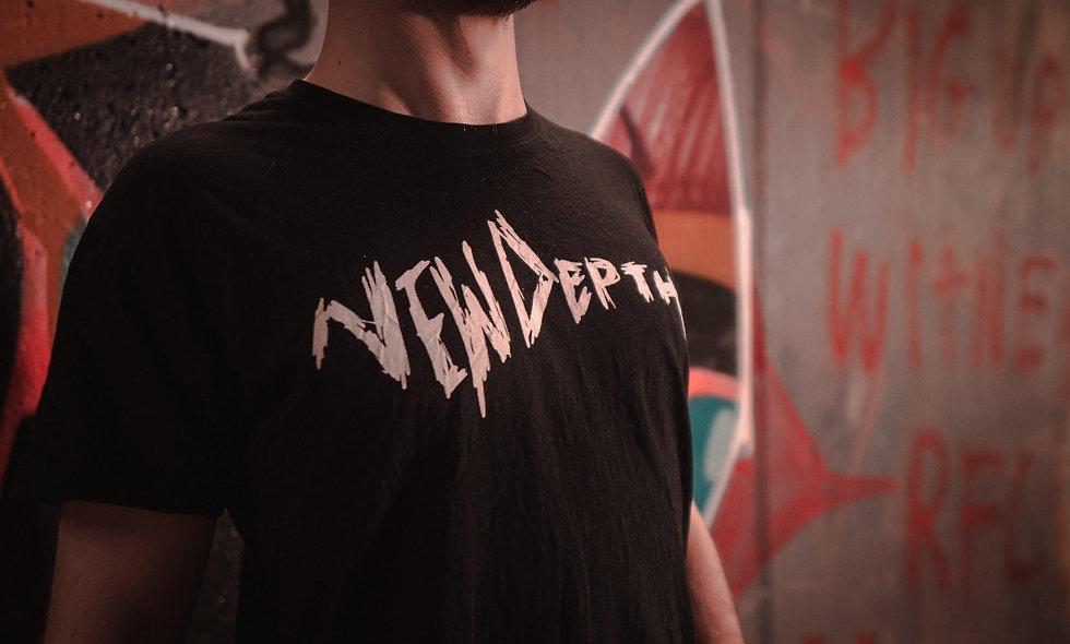 New Depth T-Shirt - in Black.