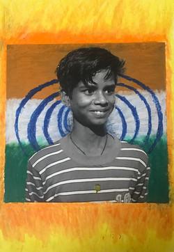 Painting by Gautam