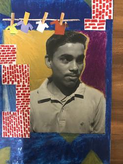Painting by Nizam