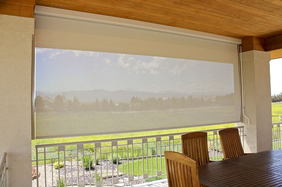 Serving A Similar Purpose As Patio Covers, Roll Down Shades Offer Maximum  Shade But With Nearly Invisible Engineering. This Evasive Phantom Sits  Flush With ...