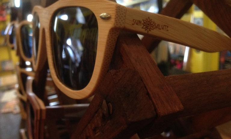Sun Salute Bamboo Sun Glasses