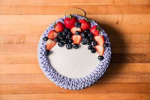 Mixed Berries Vanilla Cake