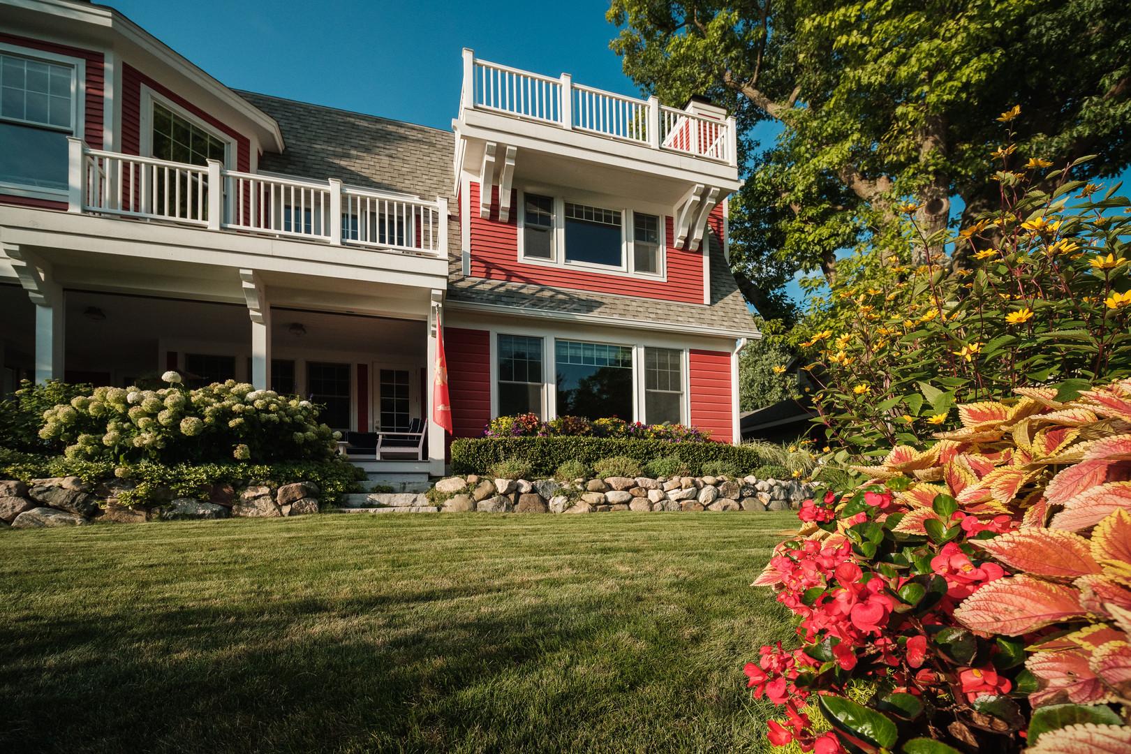 Red Cottage Landscape