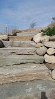 Lake Michigan Natural Stone Steps
