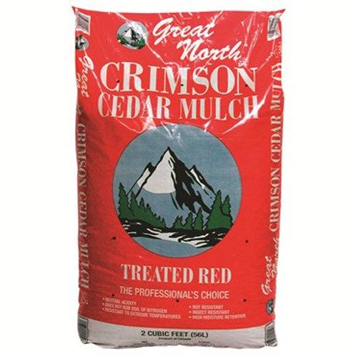 Cedar Mulch RED (2 cf. bag)